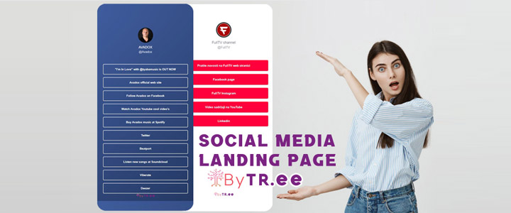 What Is a ByTree Social Media Landing Page?